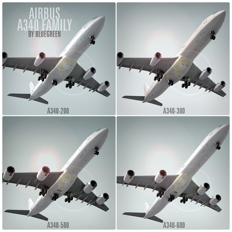 airbus a340 family 3ds