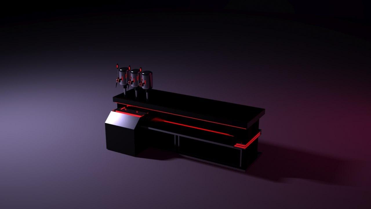 bar pressure 3d model