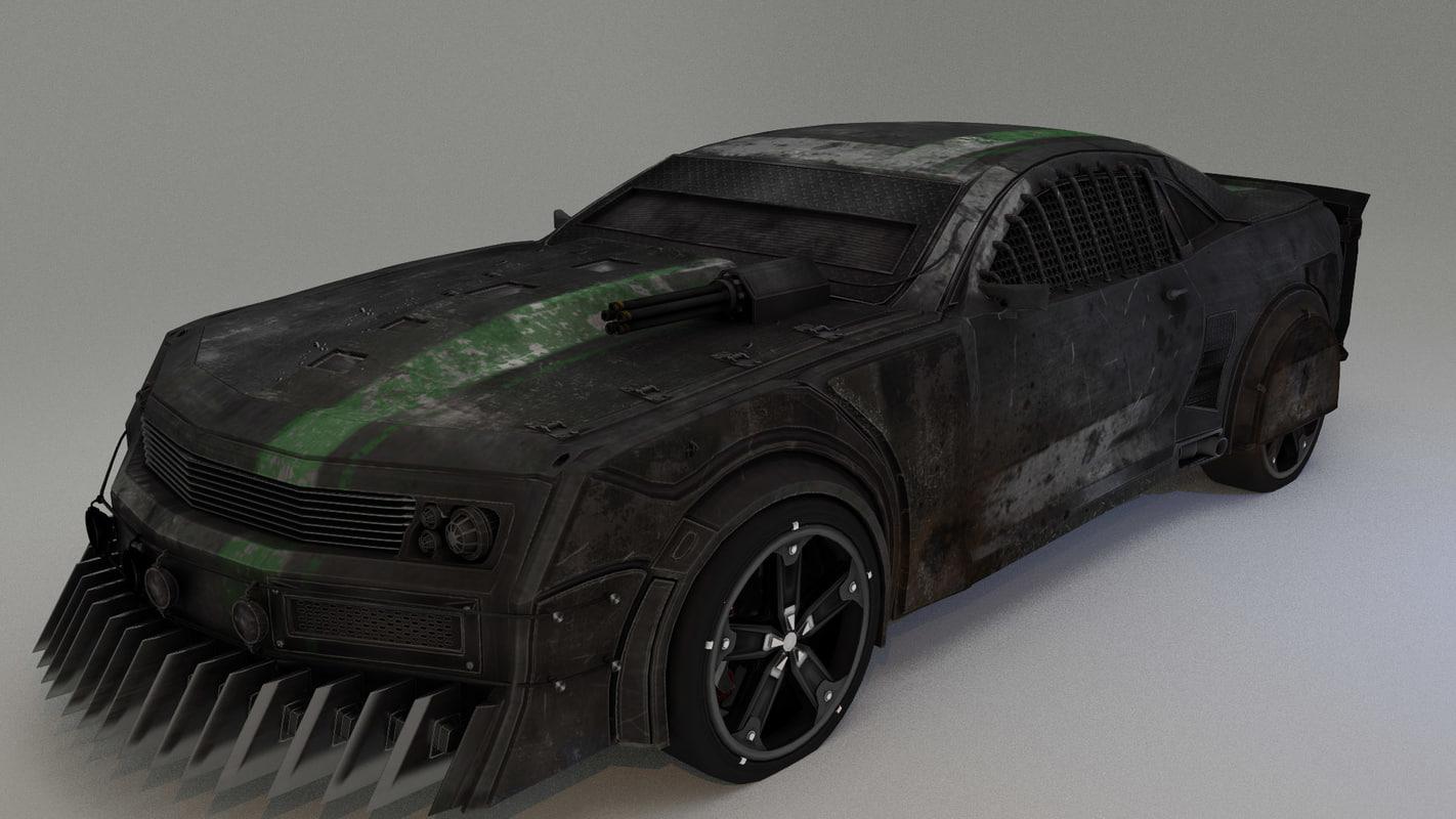 3d x car interior