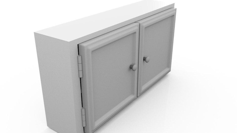 cabinets obj
