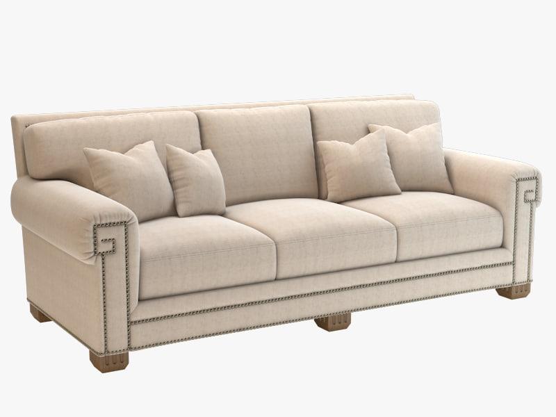 3d model chaddock coco sofa