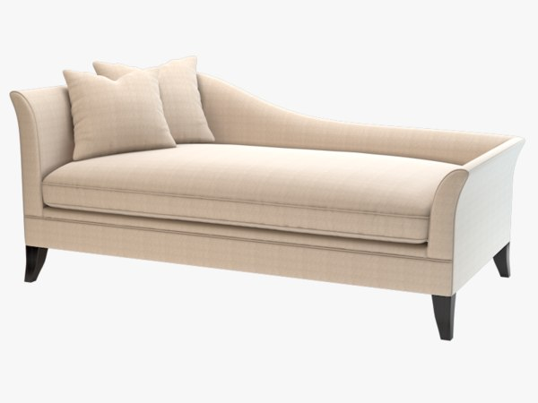 3d model chaddock laslo daybed