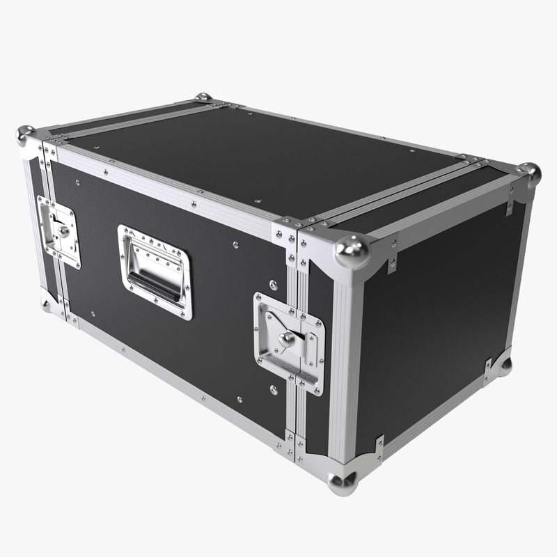 3d model flight case