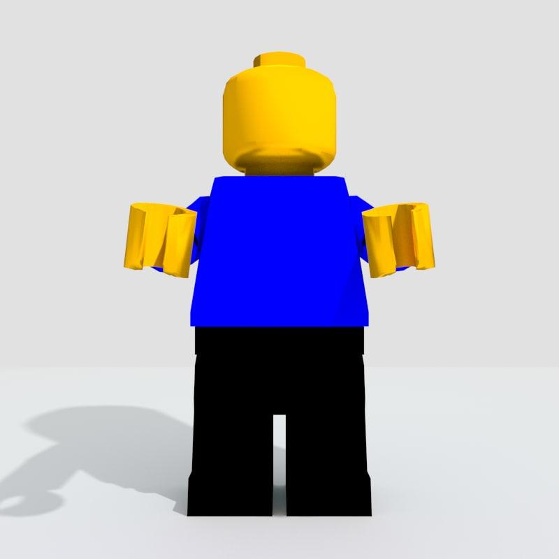3ds lego figure