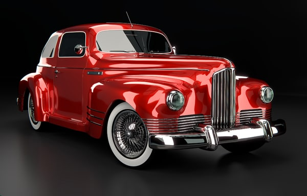 3ds max oldtimer car