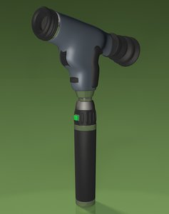 ophthalmoscope medical equipment obj