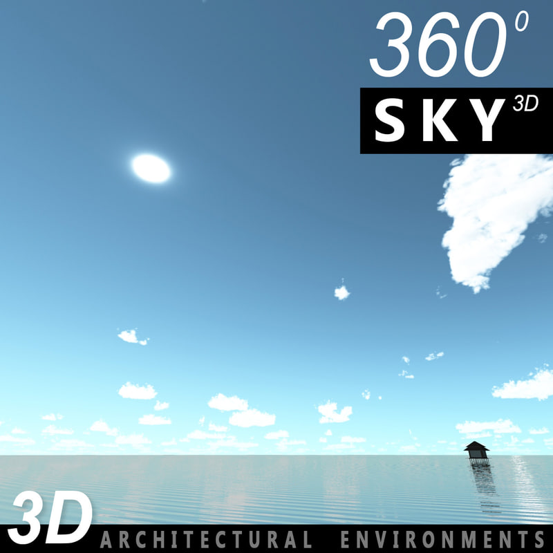 3d 3ds sky clouds