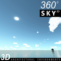 3d 3ds sky clouds