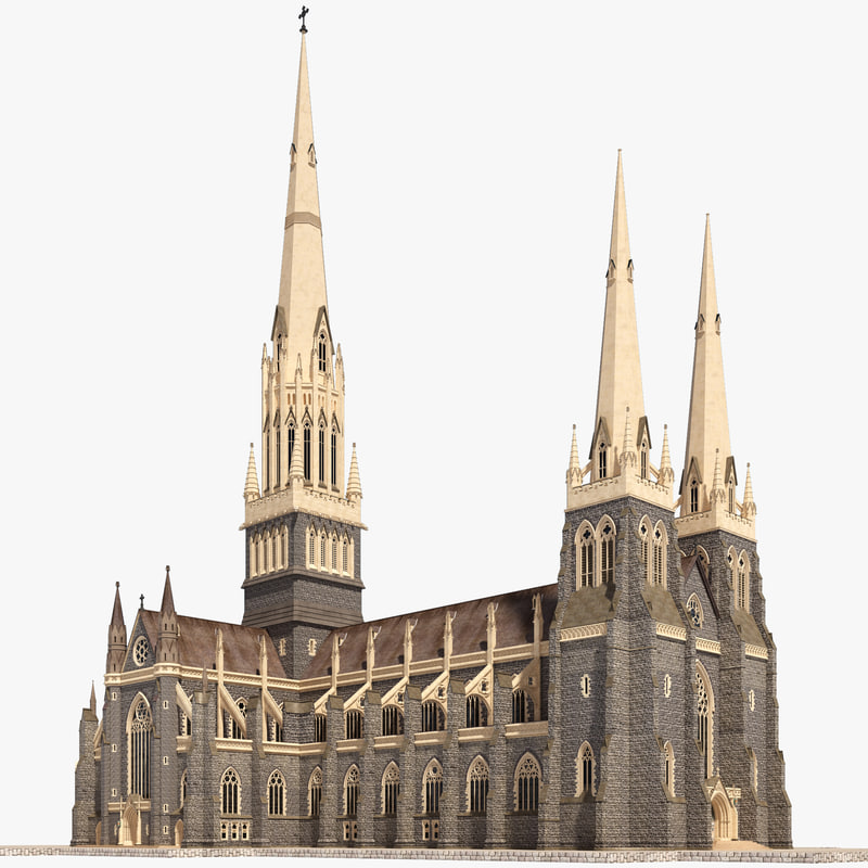 3ds st patricks cathedral church
