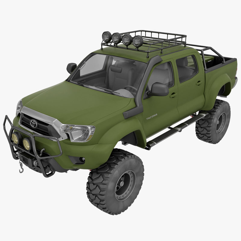 max toyota tacoma 2012 race car