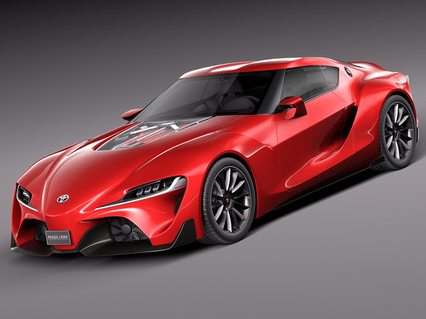 toyota ft-1 concept 3ds