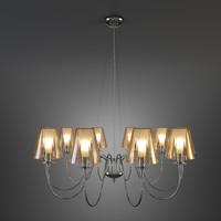 3d model of metallux pendant lamp