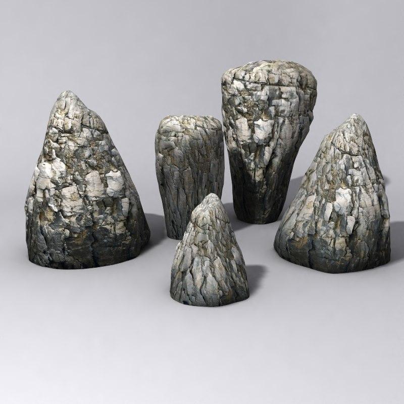 Rocks Vol.3 3D Model