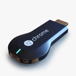 3d google chromecast