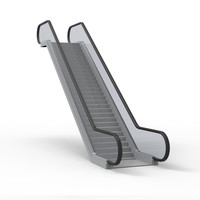 3d escalator model