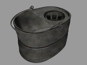 3ds max mop bucket