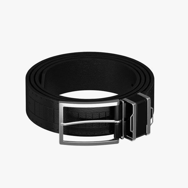 3d model belt realistic studio