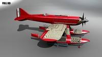 3d mc72 seaplane