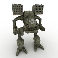 Army Mech Warrior Robot