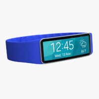 max samsung gear fit blue