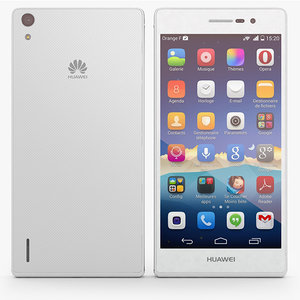 huawei ascend p7 3d model