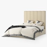3d max elegant bed