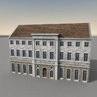 3d european building europe