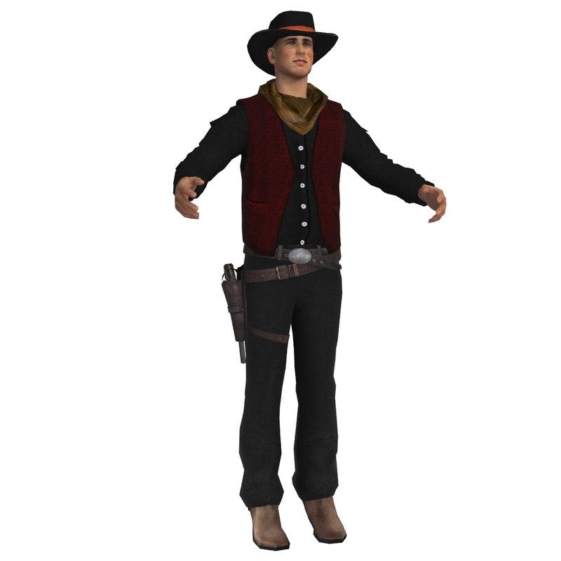 wild west cowboy max
