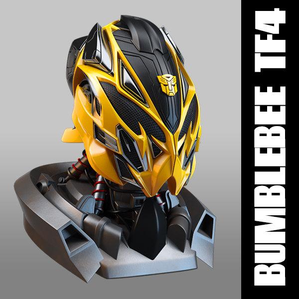 3d model bumblebee head transformers