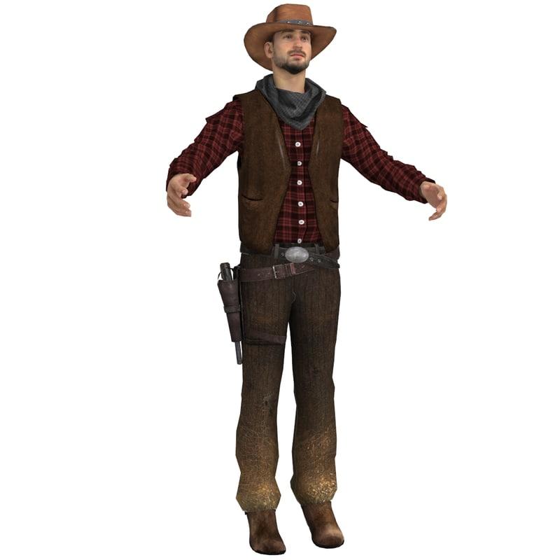 max wild cowboy