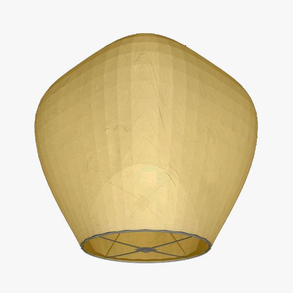 floating lantern 3d model
