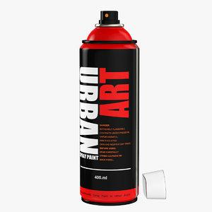 spray design 3d max