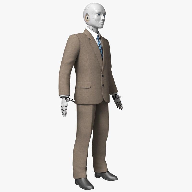 clothing robot 3d model
