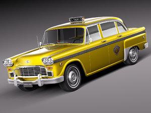 1982 1956 cab 3d model