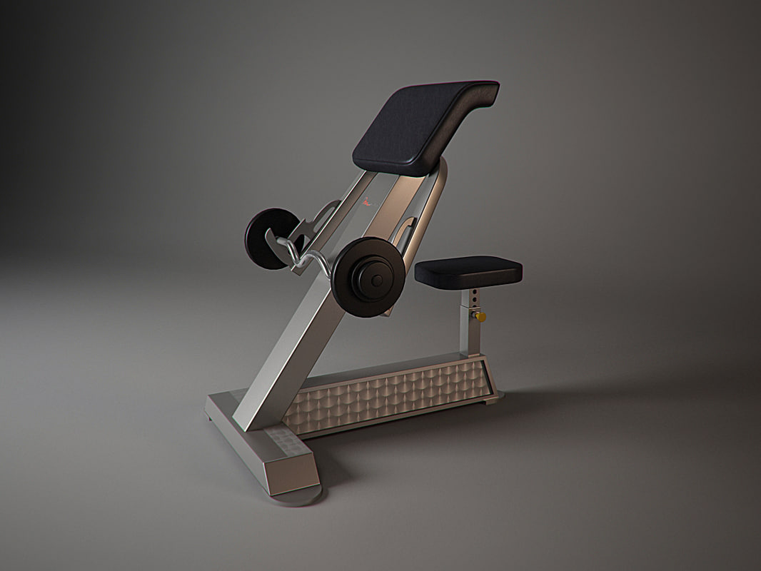 f205 freemotion fitness 3d model
