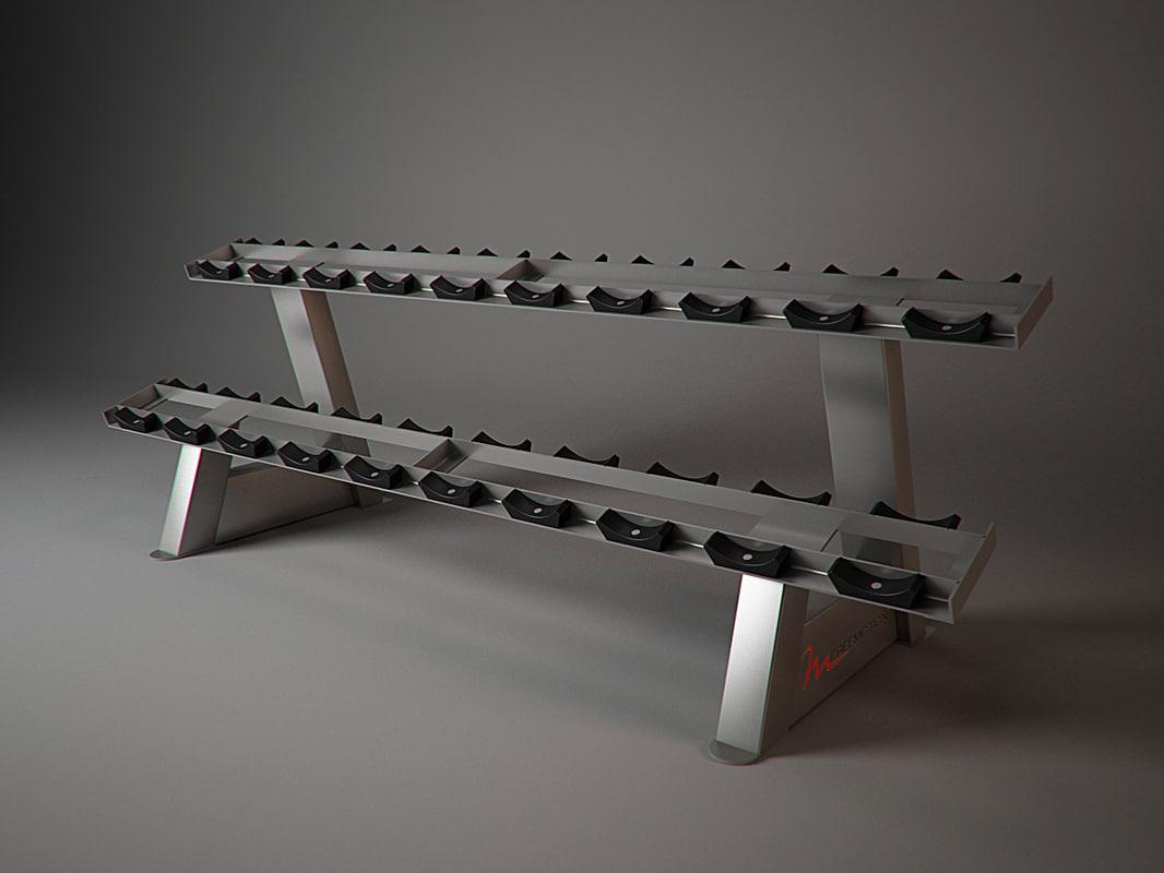 f209 freemotion fitness 3d model