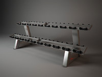 f209 freemotion fitness 3d model