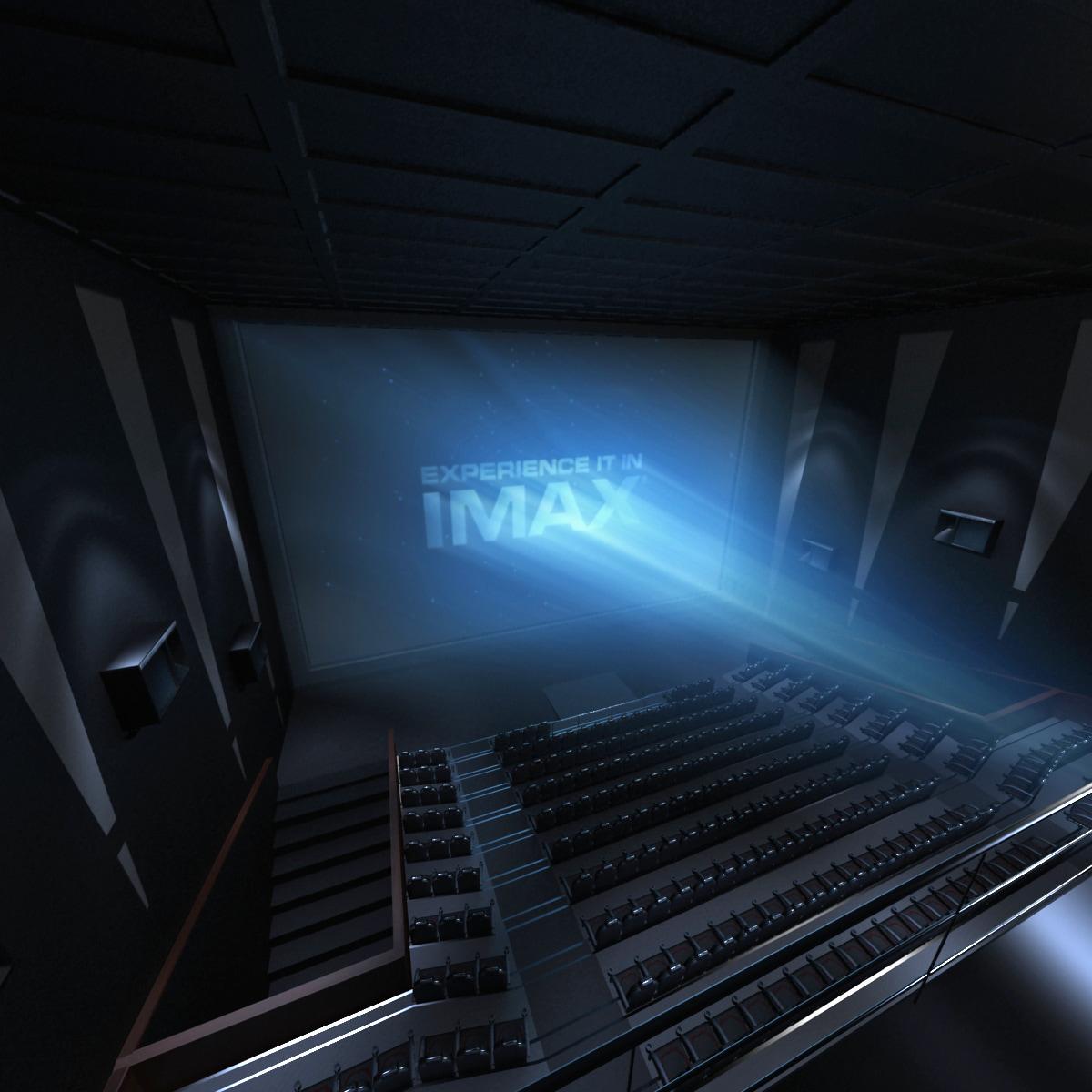 3d imax theatre interior model for Theatre model