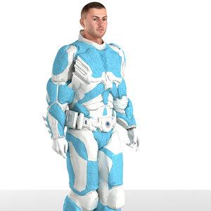 3d guard armor poser m4