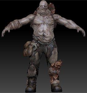 big ugly giant 3d model