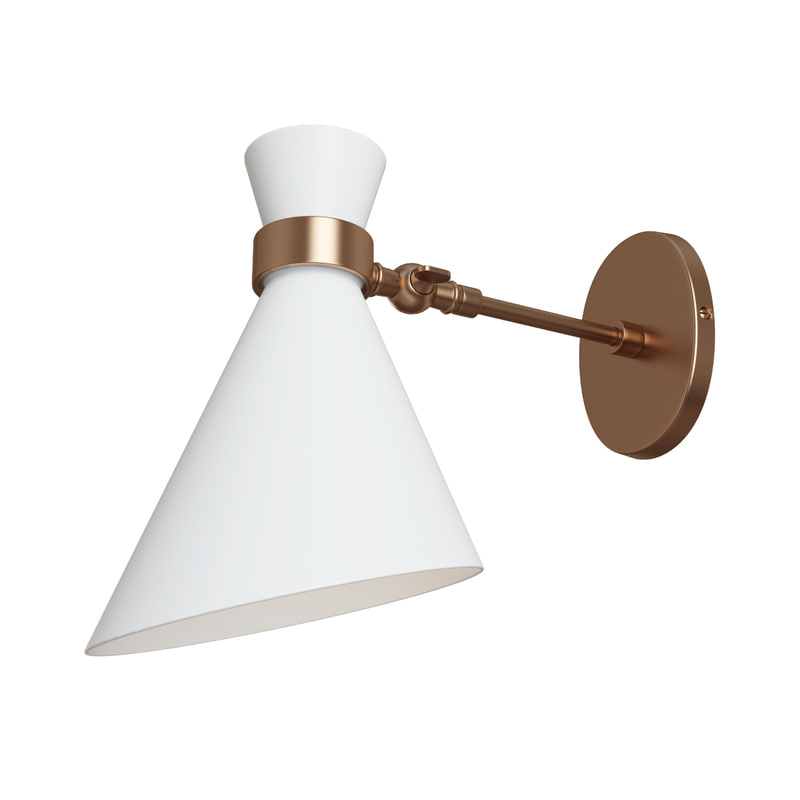 3d max peggy single wall lamp