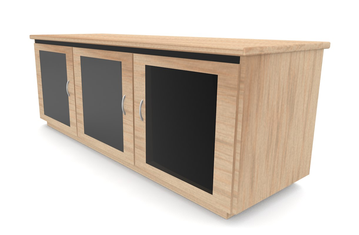 table doors cabinets 3d model