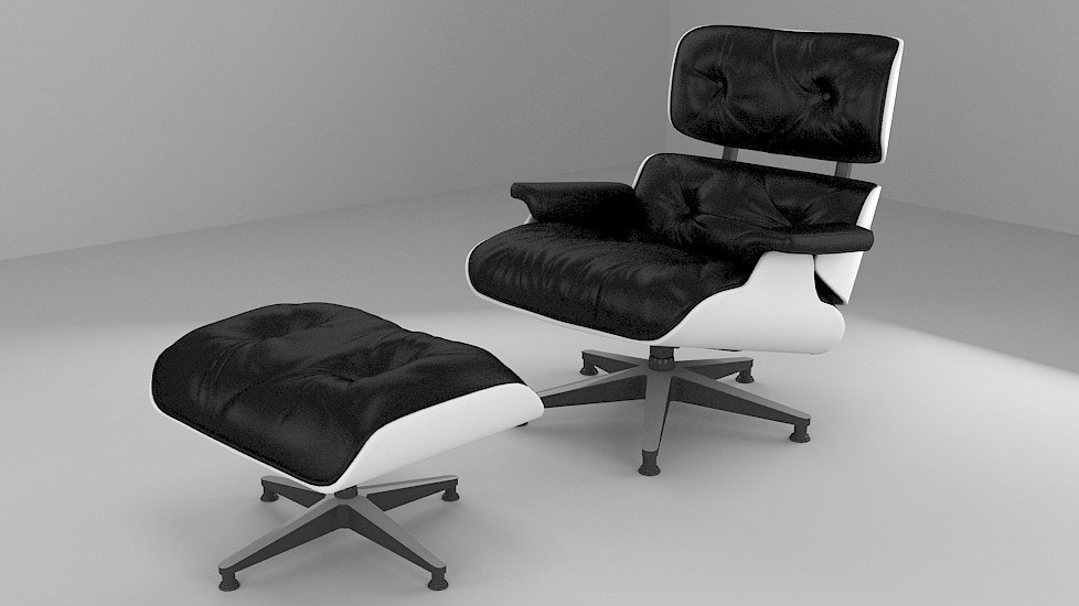 3d charles eames chair design