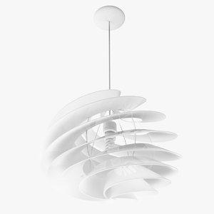 swirl light 3d obj