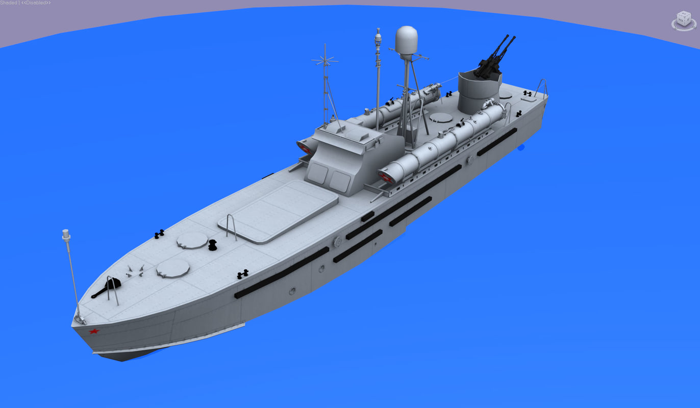 torpedo boat p123k komsomolec max