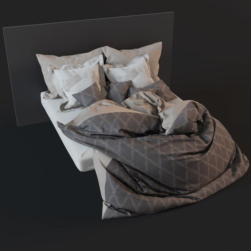 bedclothes materials 3d model