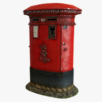 Postbox (Low Poly)