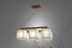 n b light lamp 3d 3ds