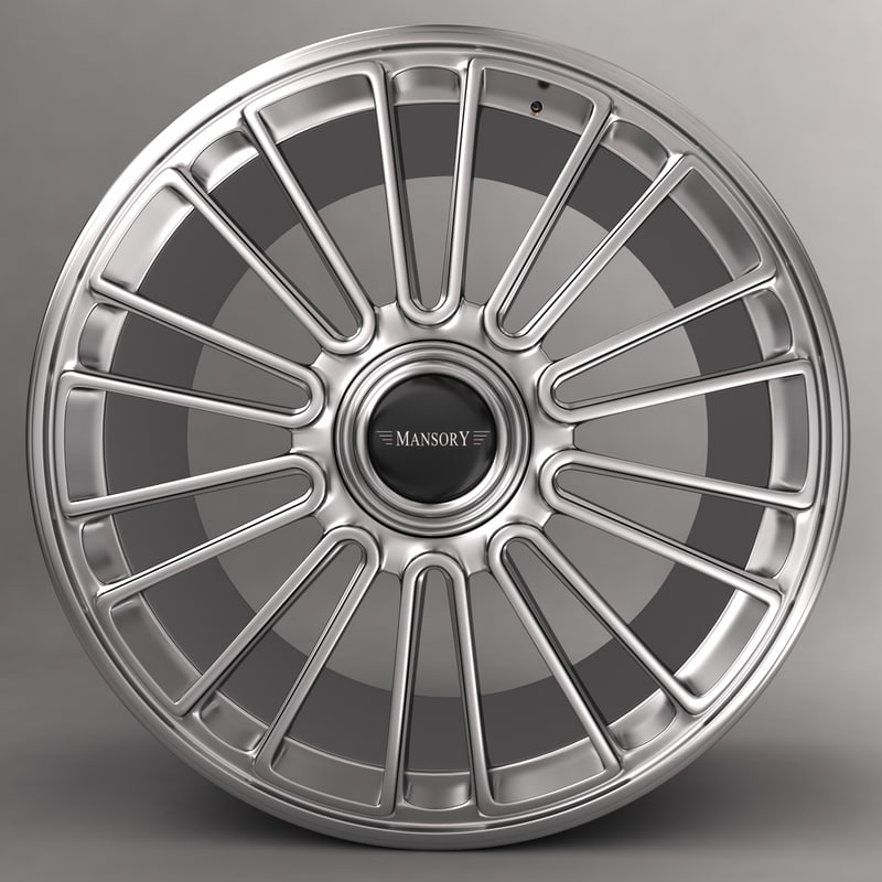 3d mansory r 22 car alloy