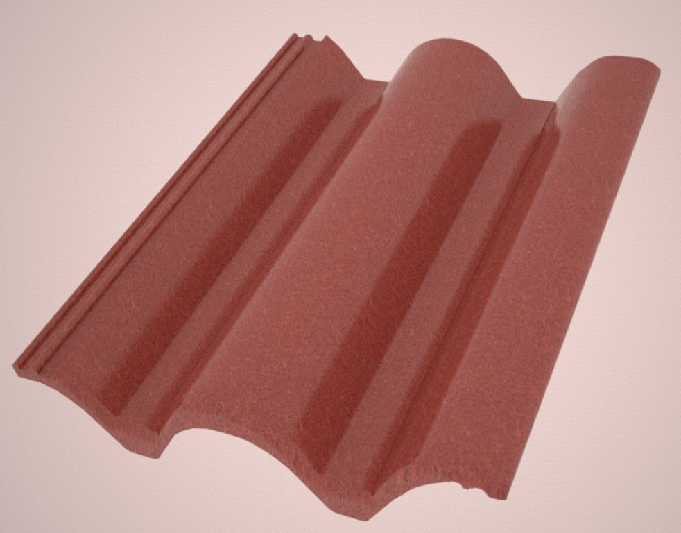 3ds max roof tile bramac